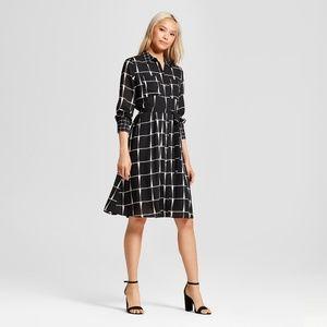 Who What Wear Women's Ruffle Hem Shirt Dress NWT